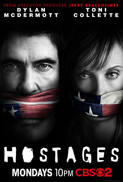 Takes the Homeland approach, then adds American flag gags. This is pretty provocative for CBS. The ad says: '' Mmpph! Mmmm-mmmmpph! '' B+