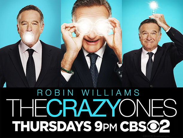 Feels a bit cold. Tells you the basics: ''Robin Williams is back on TV in a funny show.'' Note there's no Sarah Michelle Gellar. How…