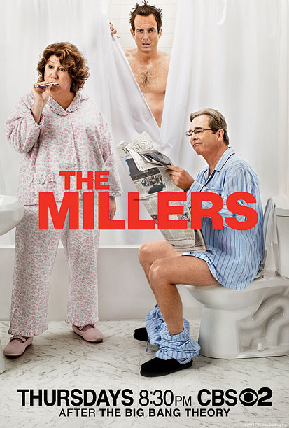 The ad literally shows bathroom humor. So if you want bathroom humor, watch The Millers (the pilot has a lengthy fart joke). I really wish…