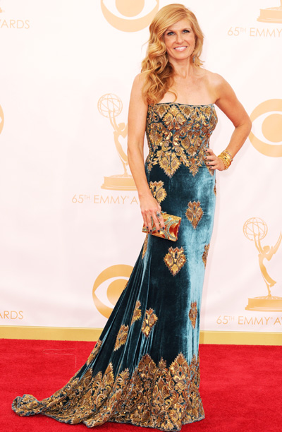Connie Britton in Naeem Khan
