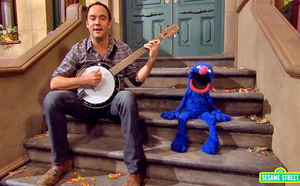 Dave Matthews Sesame Street