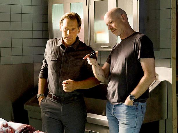 James Remar and director John Dahl (season 6, episode 4)
