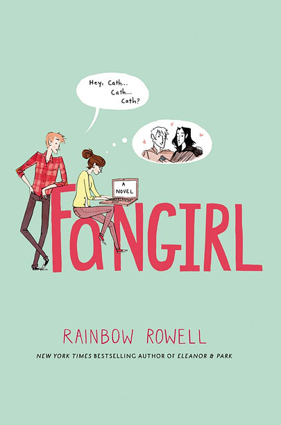 FICTIONAL ACCOUNTS Author Rainbow Rowell creates an enjoyable sojourn into the world of fan fiction and the inner life of protagonist Cath Avery