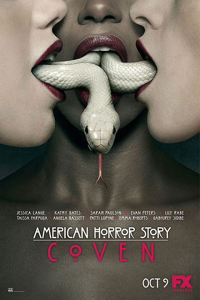 At last, Ryan Murphy is bringing snake fellatio to basic cable. Graphic, provocative, artfully composed — we expect all that from American Horror Story ads.…