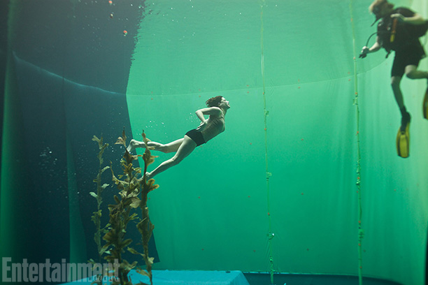 Gravity | Bullock says the underwater shots were some the most fun for her — and the most nerve-wracking for the crew, who were concerned about the…