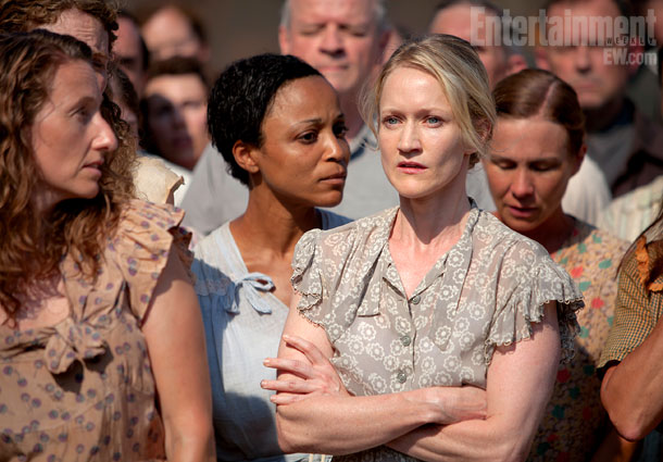 The Hunger Games | Makovsky started building the world of Panem first with District 12. ''It has a very sort of mid-century, 1930s to '50s feel — Americana,'' she…
