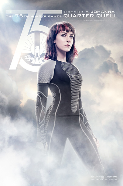 The role: Friction between Johanna and Katniss carries over from the Games. Though, with stakes this high, the two spirited ladies will have to learn…