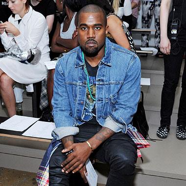 Kanye West Louise Goldin
