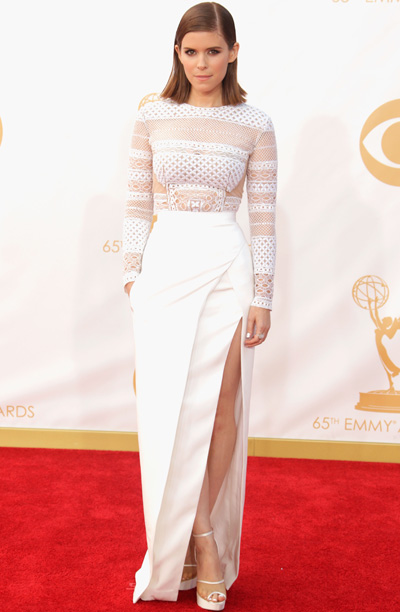 Kate Mara in J. Mendel