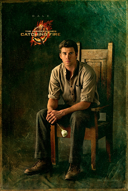 The role: Growing closeness with Katniss has done nothing to dim Gale's revolutionary spirit, and he emerges as a legitimate leader as the uprising develops…
