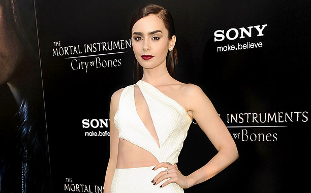Lily Collins Red Carpet DL