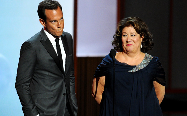 Will Arnett, Margo Martindale | Margo Martindale, who's made a career of stealing the show and taking no guff, set the standard early in the evening by tearing costar Will…