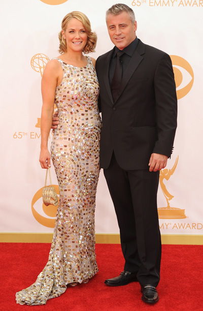 Matt LeBlanc and Andrea Anderson