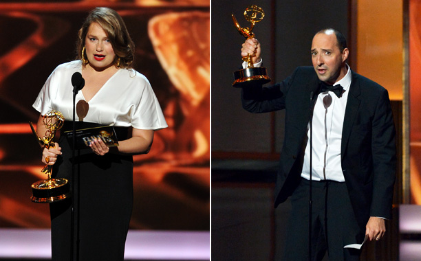 The first winner of the night — also a first-time Emmy winner — Merritt Wever ( Nurse Jackie ) was as brief as she was…