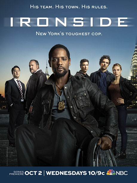 ''Nah, I'm sick of Veggie Grill. How about we go to— hold on. Cop show about a guy in a wheelchair? Sure, just email the…