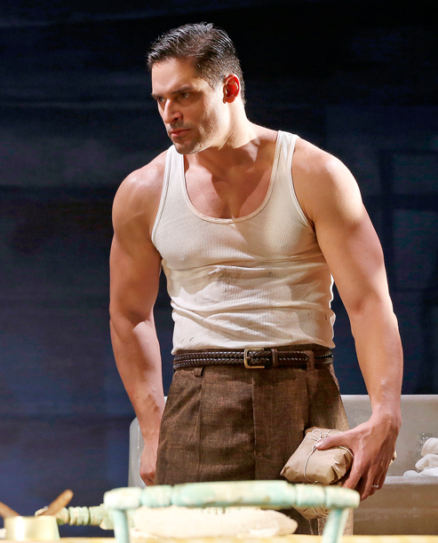HOWLING AT THE MOON Joe Manganiello as Stanley Kowalski