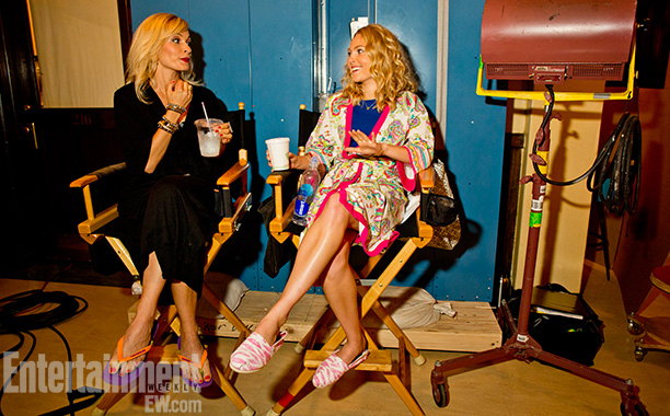 The Carrie Diaries | New York City July 23, 2013 We couldn't help but wonder: What happens when a twentysomething Samantha Jones (newcomer Lindsey Gort, left) joins the cast…