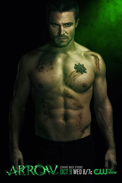 What that Grimm ad wants to be, but pretty much the same as last year. Stephen Amell fans aren't even reading what I'm typing at…