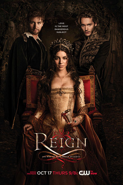 You can't get much more generic for a castle drama than a queen on a throne. Still, it looks rich with a decent tagline. B+