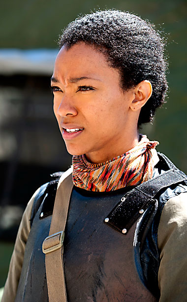 Sasha (Sonequa Martin-Green), The Walking Dead