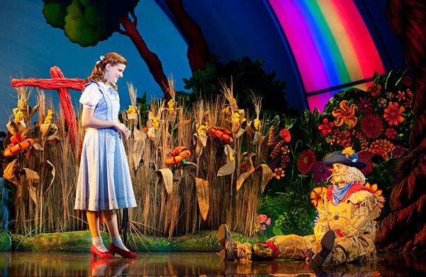 SOMEWHERE OVER THE RAINBOW Danielle Wade as Dorothy
