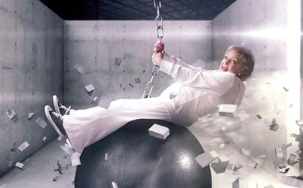 Betty White Wrecking Ball