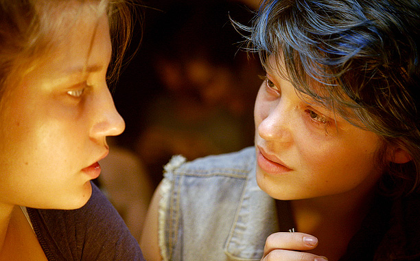 BLUE ORCHIDS Adèle Exarchopoulos and Léa Seydoux star in this Palme d'Or prize winner