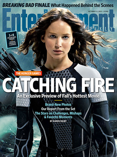 Jennifer Lawrence, The Hunger Games: Catching Fire | For more of EW's exclusive window into the making of The Hunger Games: Catching Fire , pick up this week's issue on newsstands or buy…
