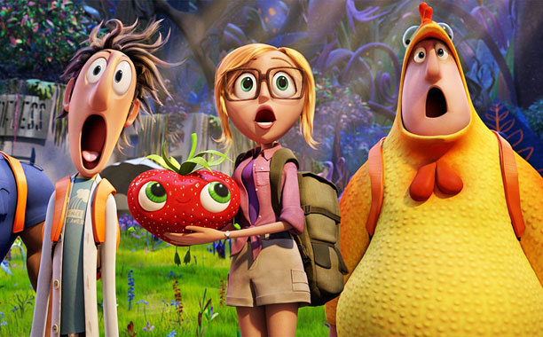 ON TOP OF SPAGHETTI Cloudy with a chance of Meatballs 2 is charming enough to overlook some of it's flaws