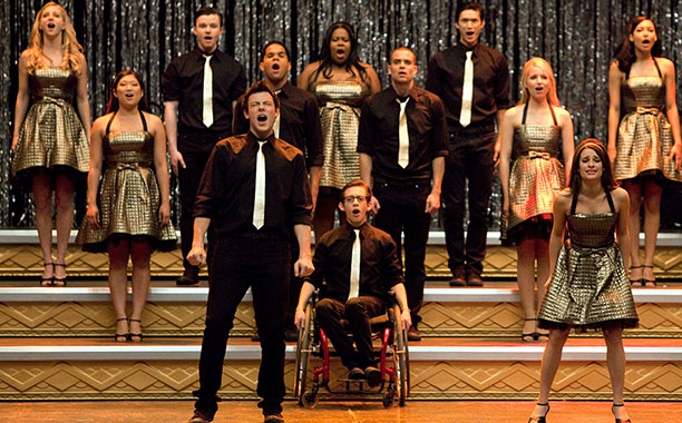 Glee, Cory Monteith   From ''Journey to Regionals'' (season 1, episode 22) This chill-inducing group number — anchored by Monteith and Michele's sizzling chemistry on ''Faithfully'' — didn't win…