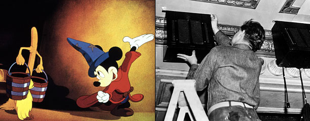 For his ambitiously weird anthology film, Disney created an entirely new sound system. It was called ''Fantasound,'' and its multi-channel system promised to envelop moviegoers…