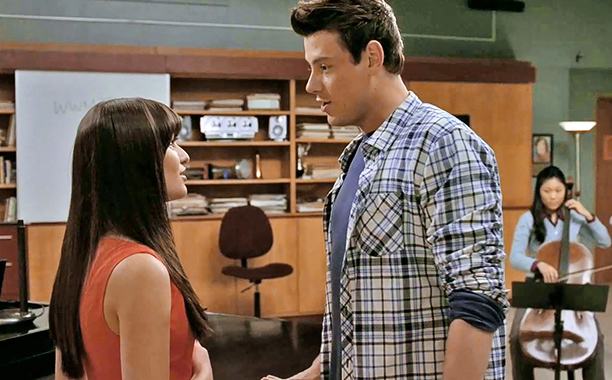 Glee, Cory Monteith   From ''Michael'' (season 3, episode 11) This flirty ballad from season 3 showed why shippers kept rooting for ''Finchel'' — love triangles (or quadrangles) be…