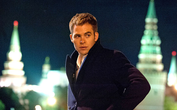 JACK OF ALL TRADES Chris Pine takes on the role previously held by such stalwarts as Harrison Ford and Alec Baldwin in Jack Ryan .
