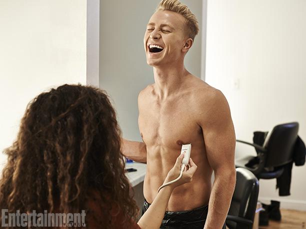 Katy Perry | This just in: Scott Myrick is ticklish.