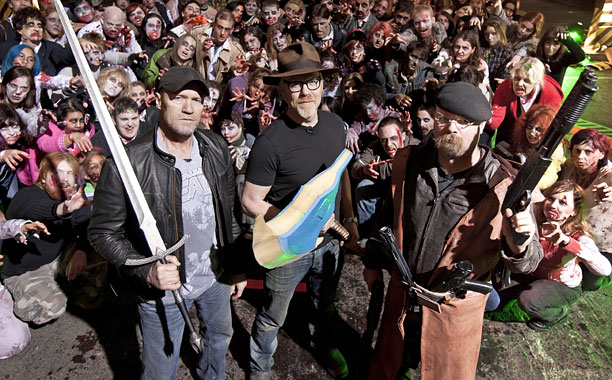Michael Rooker Mythbuster Zombies