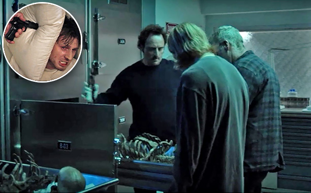 Sons of Anarchy | ''Old Bones,'' (season 1, episode 7) RIP: Lowell Harland Sr. Death by: Bullets Reason: When three bodies were dug up, Clay told Jax all were…
