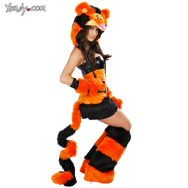 The wonderful thing about Tigger is he's a beloved cartoon character , not a stripper.
