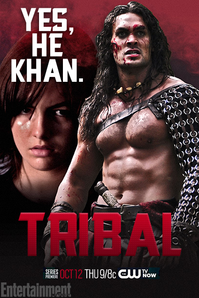 Before he was Ghenghis Khan, he was Temujin, just another Mongolian warrior with pecs the size of his head. Jason Momoa plays the young Khan…