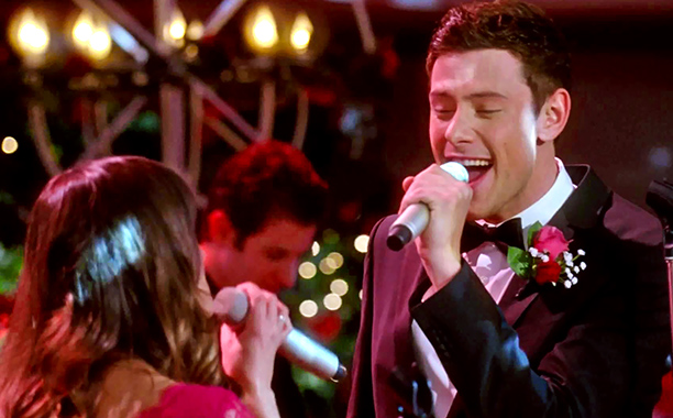 Glee, Cory Monteith | From ''I Do'' (season 4, episode 14) The real-life couple behind Finn and Rachel had chemistry that sizzled onscreen, and their best duets played that…