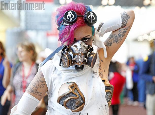 Cyber Punk Princess Leia