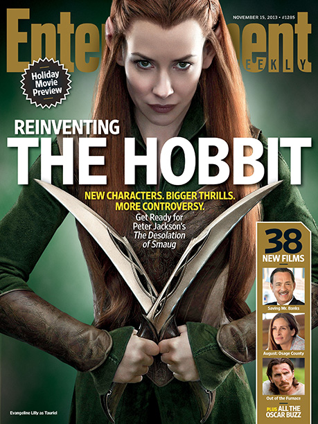 The Hobbit: The Desolation of Smaug | For more on The Hobbit: The Desolation of Smaug and the best of this holiday season's movies, pick up this week's issue of EW on…