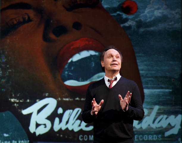 BILLY CRYSTAL IN 700 SUNDAYS ''I'm the only 65-year-old doing cartwheels on Broadway!''