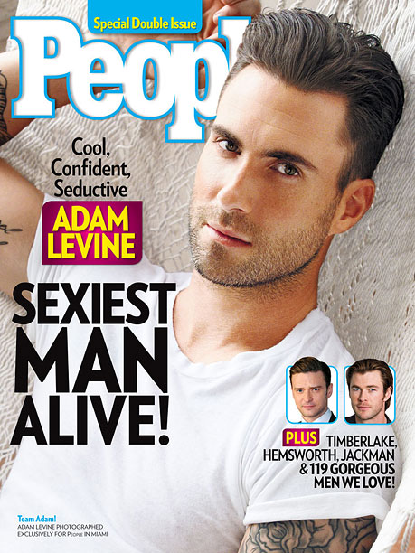 Adam Levine People Sexiest Man Alive