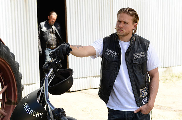 Charlie Hunnam, Sons of Anarchy | Sitting at the head of the SAMCRO table, Jax (Charlie Hunnam) became more like the man he despised, Clay (Ron Perlman), until he realized he…