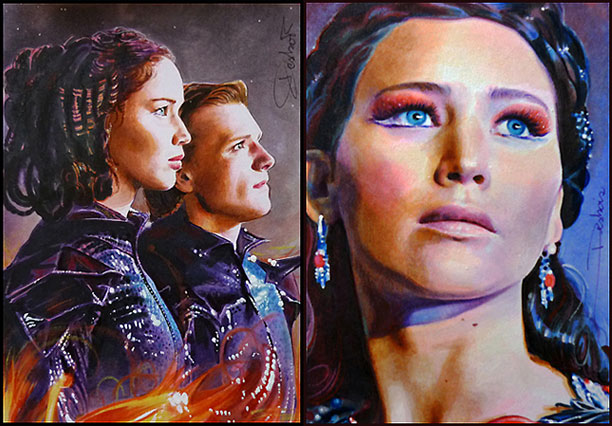 The Hunger Games: Catching Fire | By David Desbois