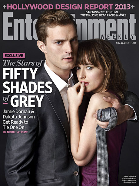 Jamie Dornan, Dakota Johnson, ... | Nov. 22, 2013 In April 2012, we introduced author E L James to the world with an exclusive interview about Fifty Shades of Grey ,…