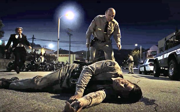 Sons of Anarchy | ''SO'' (season 3, episode 1) The manner of the deputy's death was itself sudden—the guy got run over during a shoot-out that didn't even involve…