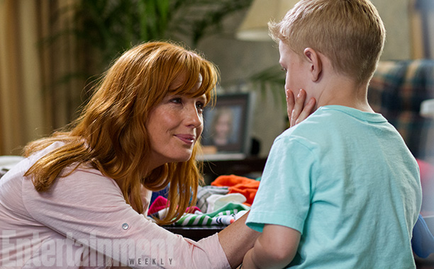 The relationship between Todd and his wife Sonja (Kelly Reilly, pictured with Connor Corum) is a crucial element to the story, as they deal with…