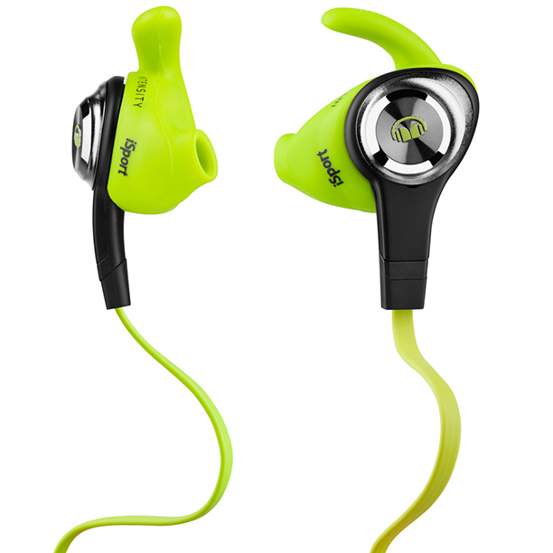 Tangleproof cables, antimicrobial eartips, and an in-line microphone make the Monster iSport Intensity headphones a runner's dream. ($99.95; monsterproducts.com )