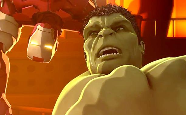 Iron Man And Hulk